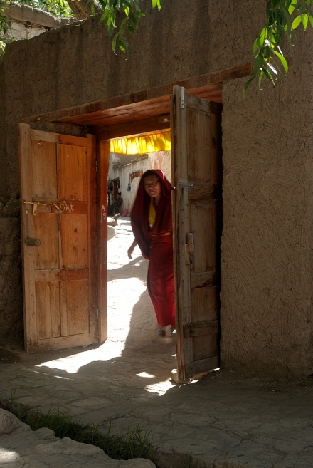 Monk in the Alchi Mo